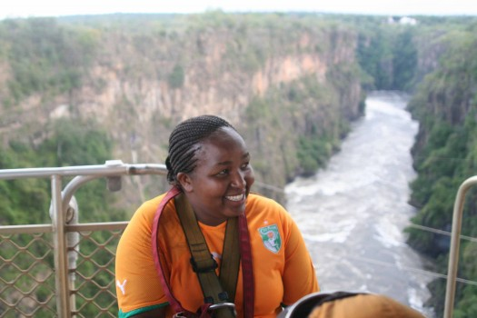 Travel Diary: Bungee jumping at Victoria Falls